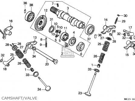 Honda xr600 engine diagram