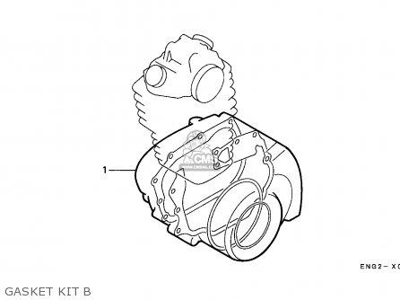 Honda Xr600r 1989 (k) Australia parts list partsmanual
