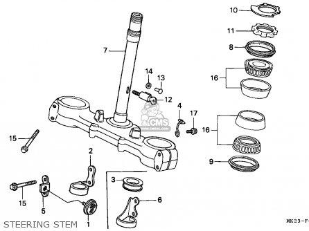 Honda XR600R 1989 (K) BELGIUM parts lists and schematics