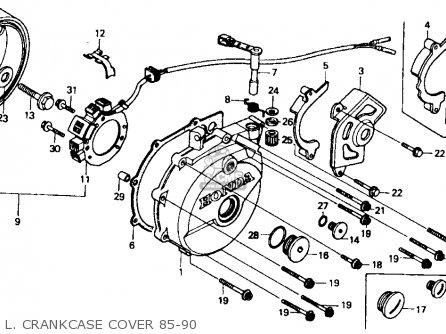 Honda XR600R 1989 (K) USA parts lists and schematics