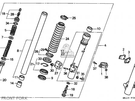 Honda XR600R 1990 (L) AUSTRALIA parts lists and schematics