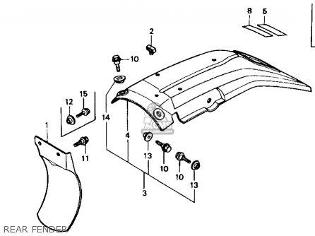 Honda XR600R 1990 (L) USA parts lists and schematics