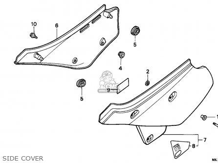 Honda XR600R 1992 (N) BELGIUM parts lists and schematics