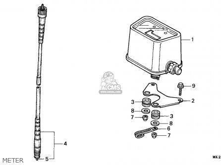 Honda XR600R 1992 (N) CANADA parts lists and schematics