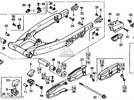 1992 Honda xr600r parts