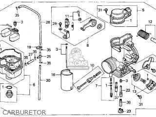Honda Xr600r 1993 Usa parts list partsmanual partsfiche