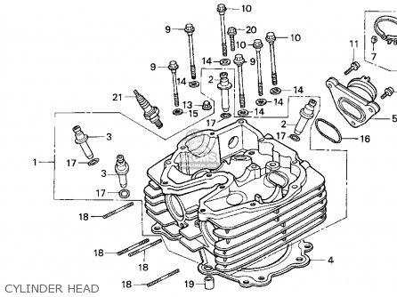 Honda Xr600r 1994 (r) Usa parts list partsmanual partsfiche