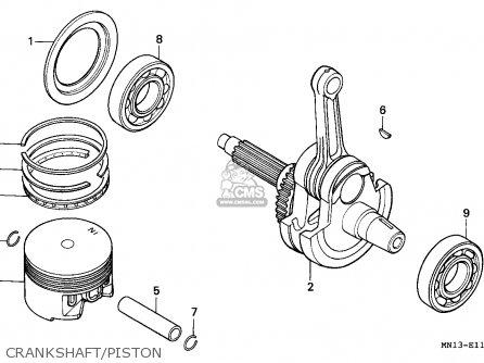 Honda XR600R 1995 (S) CANADA parts lists and schematics