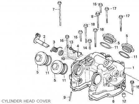 Honda XR600R 1995 (S) USA parts lists and schematics