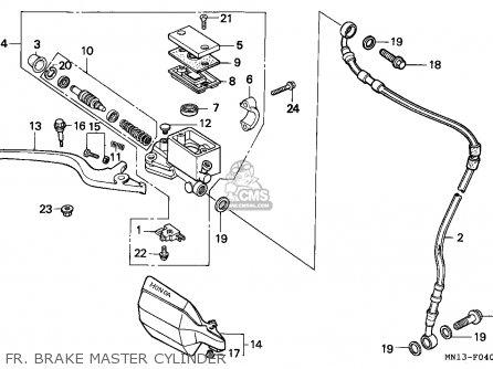 Honda XR600R 1998 (W) AUSTRALIA / MM parts lists and