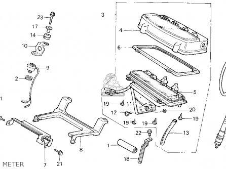 Honda Xr600r 1999 (x) Usa parts list partsmanual partsfiche