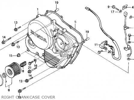 Honda XR650L 1993 (P) USA parts lists and schematics
