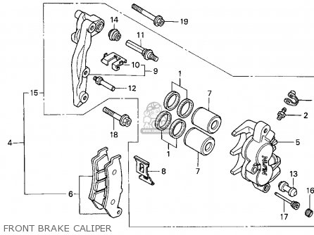 Honda XR650L 1994 (R) USA parts lists and schematics