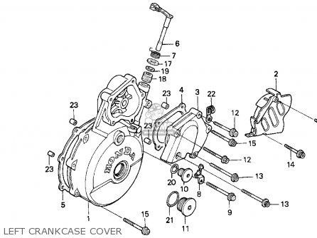 Honda XR650L 1996 (T) USA parts lists and schematics