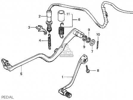 Honda Xr650l 1996 Usa parts list partsmanual partsfiche