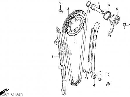 Honda Xr650l 1999 (x) Usa parts list partsmanual partsfiche