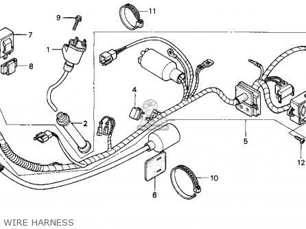 Honda XR650L 1999 (X) USA parts lists and schematics