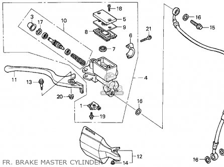 Honda XR650L 2000 (Y) USA parts lists and schematics