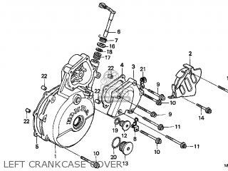 Honda XR650L 2001 (1) USA parts lists and schematics