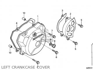 2002 xr650r wiring diagram mccb motorized schneider honda 2 general export kph ssw parts lists and left crankcase cover