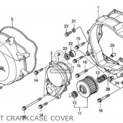 2002 Xr650r Wiring Diagram 1998 Jeep Cherokee Honda 2 General Export Kph Ssw Parts Lists And Right Crankcase Cover