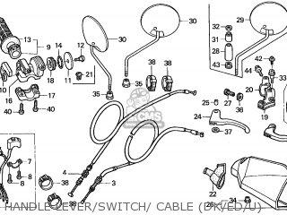 Honda XR650R 2004 (4) EUROPEAN DIRECT SALES parts lists