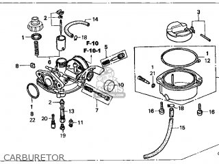 Honda Xr70r 1997 Usa parts list partsmanual partsfiche