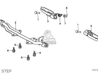 Honda Xr70r 1997 (v) European Direct Sales parts list