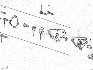 Honda XR70R 1997 (V) JAPAN DE02-100 parts lists and schematics