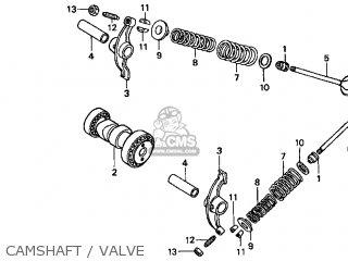Honda XR70R 1997 (V) USA parts lists and schematics