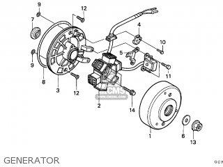 Honda XR70R 1999 (X) CANADA / REF parts lists and schematics