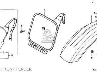 Honda XR70R 2002 (2) USA parts lists and schematics