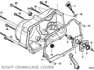 Honda XR70R 2003 (3) CANADA / REF parts lists and schematics