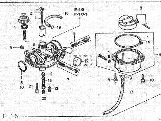Honda XR70R 2003 (3) JAPAN DE02-160 parts lists and schematics