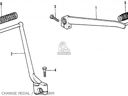 Honda XR75 K1 1974 USA parts lists and schematics
