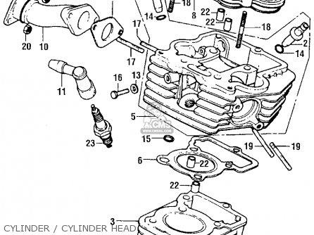 Honda Z50 Fork Diagram Honda XR50 Wiring Diagram ~ Odicis