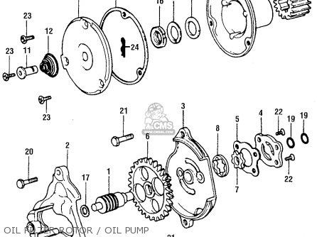 Honda XR75 K2 1975 USA parts lists and schematics