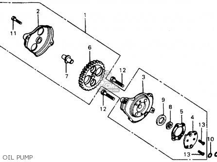 Honda XR75 K4 1977 USA parts lists and schematics