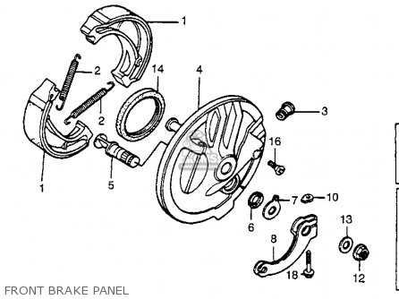 Honda Xr80 1979 (z) Usa parts list partsmanual partsfiche