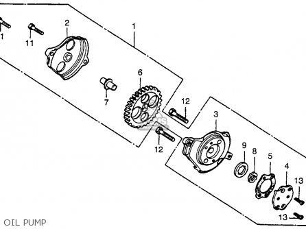 Honda XR80 1979 (Z) USA parts lists and schematics