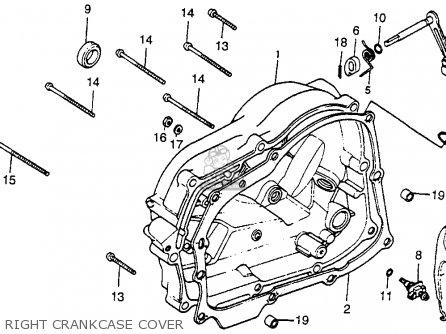 Honda Xr80 1979 (z) Usa parts list partsmanual partsfiche