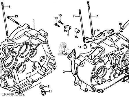 Honda Xr80r 1985 (f) Usa parts list partsmanual partsfiche
