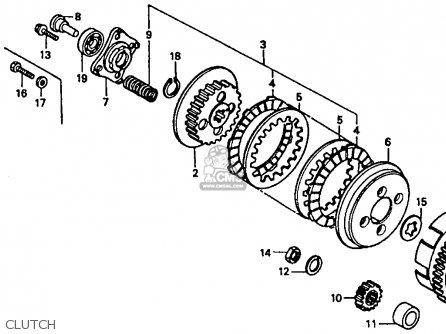 Honda Xr80r 1987 (h) Usa parts list partsmanual partsfiche