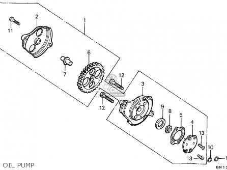 Honda Xr80r 1990 Sweden parts list partsmanual partsfiche