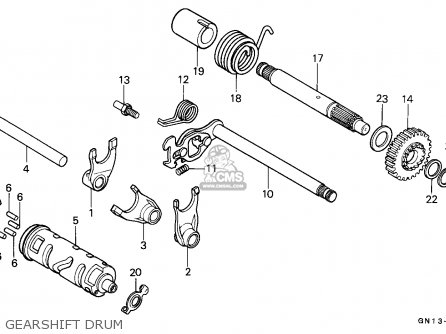 Honda XR80R 1992 (N) MEXICO parts lists and schematics