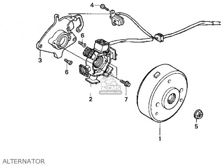 Honda XR80R 1996 (T) USA parts lists and schematics