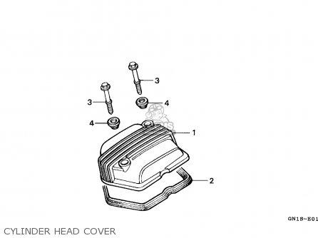 Honda Xr80r 1997 (v) Mexico parts list partsmanual partsfiche