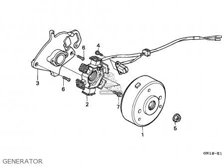 Honda XR80R 1997 (V) MEXICO parts lists and schematics