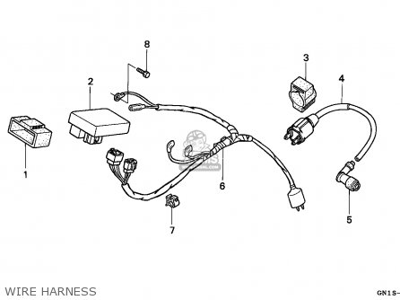 Honda Xr80r 1997 (v) Mexico parts list partsmanual partsfiche