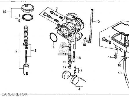 Honda XR80R 1999 (X) USA parts lists and schematics